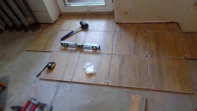 Как положить плитку на пол самостоятельно