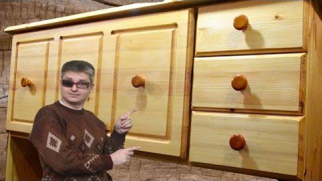 Секретер (шкаф-стол) из дерева своими руками