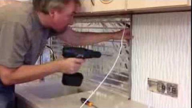 Установка кухонного фартука