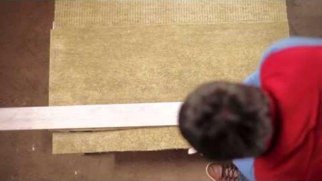 Монтаж теплоизоляции на пол под стяжку